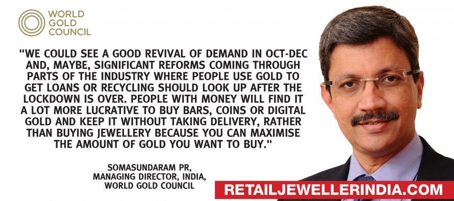 Gold demand may shift from jewellery, says WGC India MD.