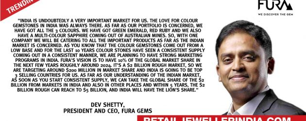 India to get lion's share of the global colour stone market