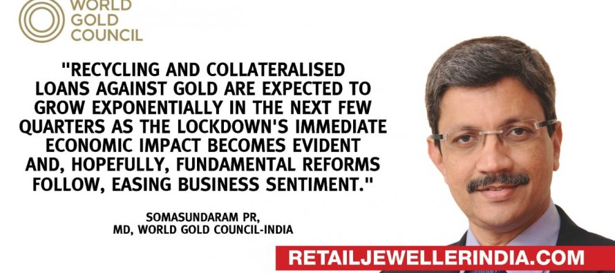 FOCUS: Gold sector seen saddled with piles of scrap on econ distress