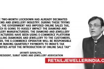 Diamond & jewellery suppliers want online sales tax abolished