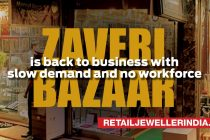 Zaveri Bazaar is back to business with slow demand and no workforce