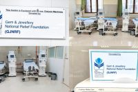 GJNRF donates 6 dialysis machines to Mumbai's Cooper hospital