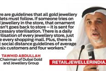 Is it safe to try gold jewellery in Dubai stores?