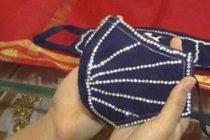 Surat Jewellery Shop Sells Diamond-Studded Masks Worth Lakhs
