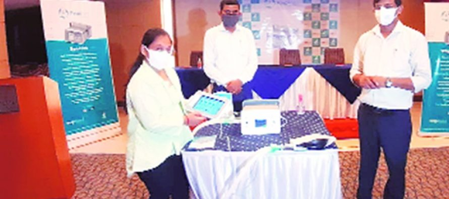 Subsidiary firms of diamond company in Surat develop low-cost ventilator