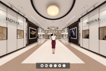 360º Virtual Jewellery Showroom – A Futuristic Solution