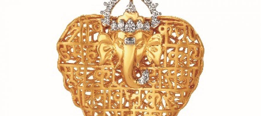 Tanishq launches exclusive Ganesha pendants