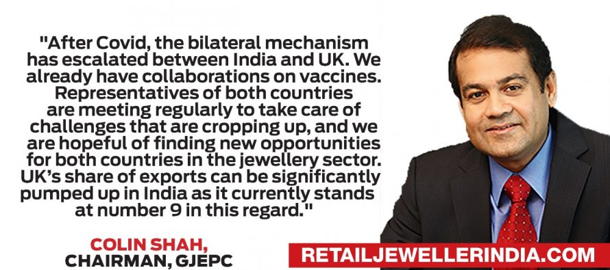 GJEPC's Global Connect brings India and UK together is a sparkling bond