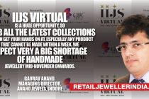 IIJS virtual is a huge opportunity, so grab all the latest collections you can get your hands on at, Especially any product that cannot be made within a week. We expect very a big shortage of handmade jewellery mid-November onwards.