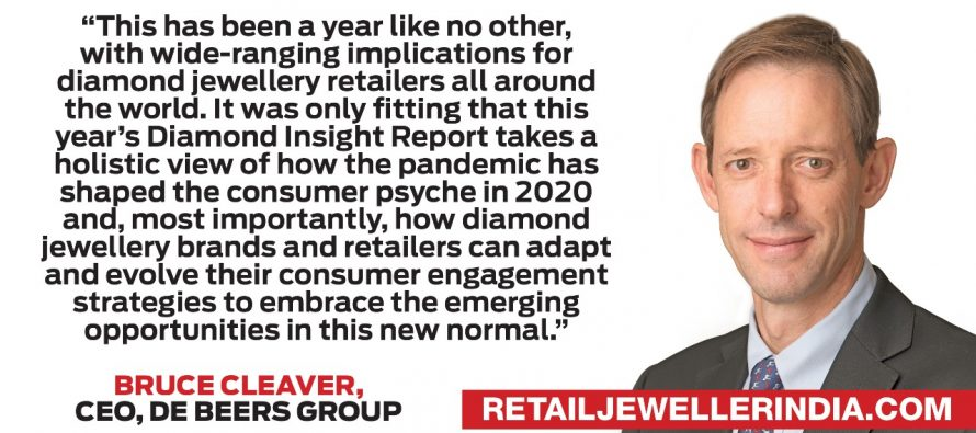 De Beers group 2020 diamond insight report explores the consumer opportunity in the new normal