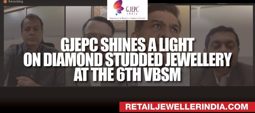 GJEPC shines a light on diamond studded jewellery at the 6th VBSM
