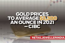 Gold prices to average $2,300 an ounce in 2021 – CIBC