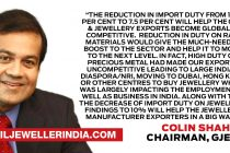 A landmark budget for the gem & jewellery industry