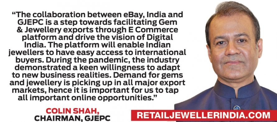 GJEPC signs MoU with eBay to boost retail exports of Gems & Jewellery from India