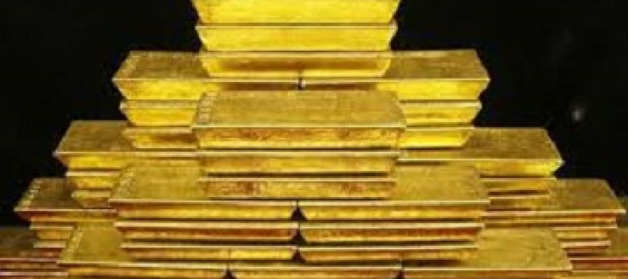 Gold price plunges to 8-month low