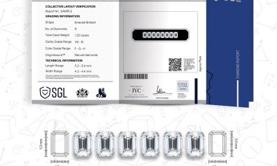 SGL certifies and validates multiple diamonds for 'Layout' service