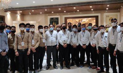 Aisshpra Gems and Jewels team vaccination