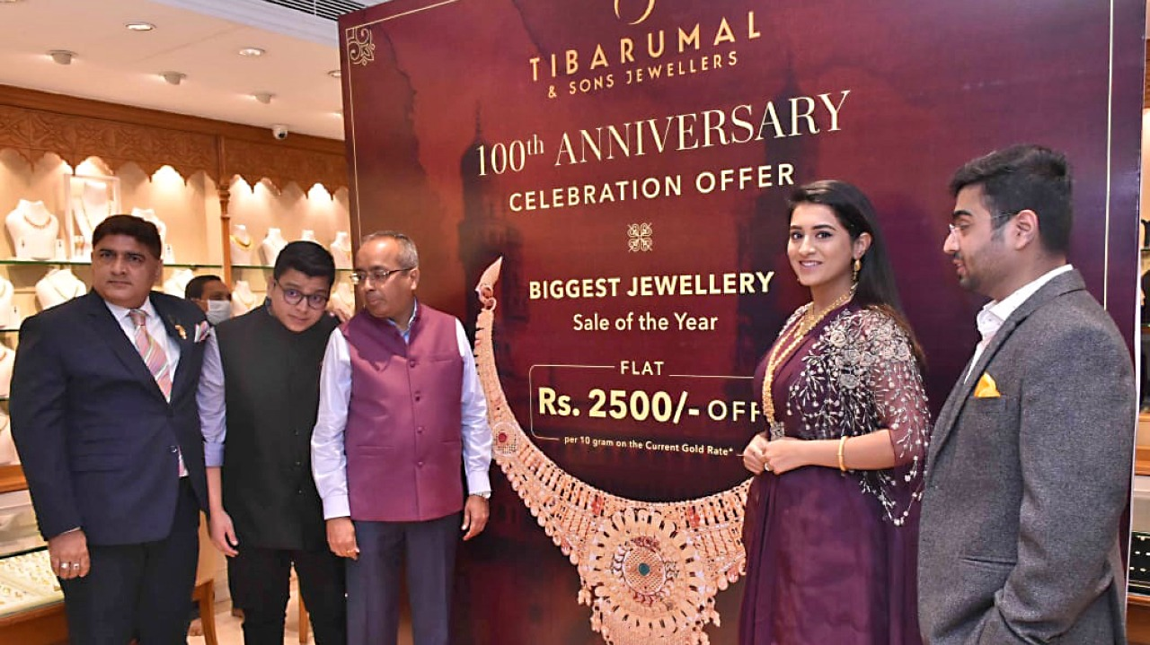 Harsahaimal Shiamalal Jewellers 100th anniversary celebrations