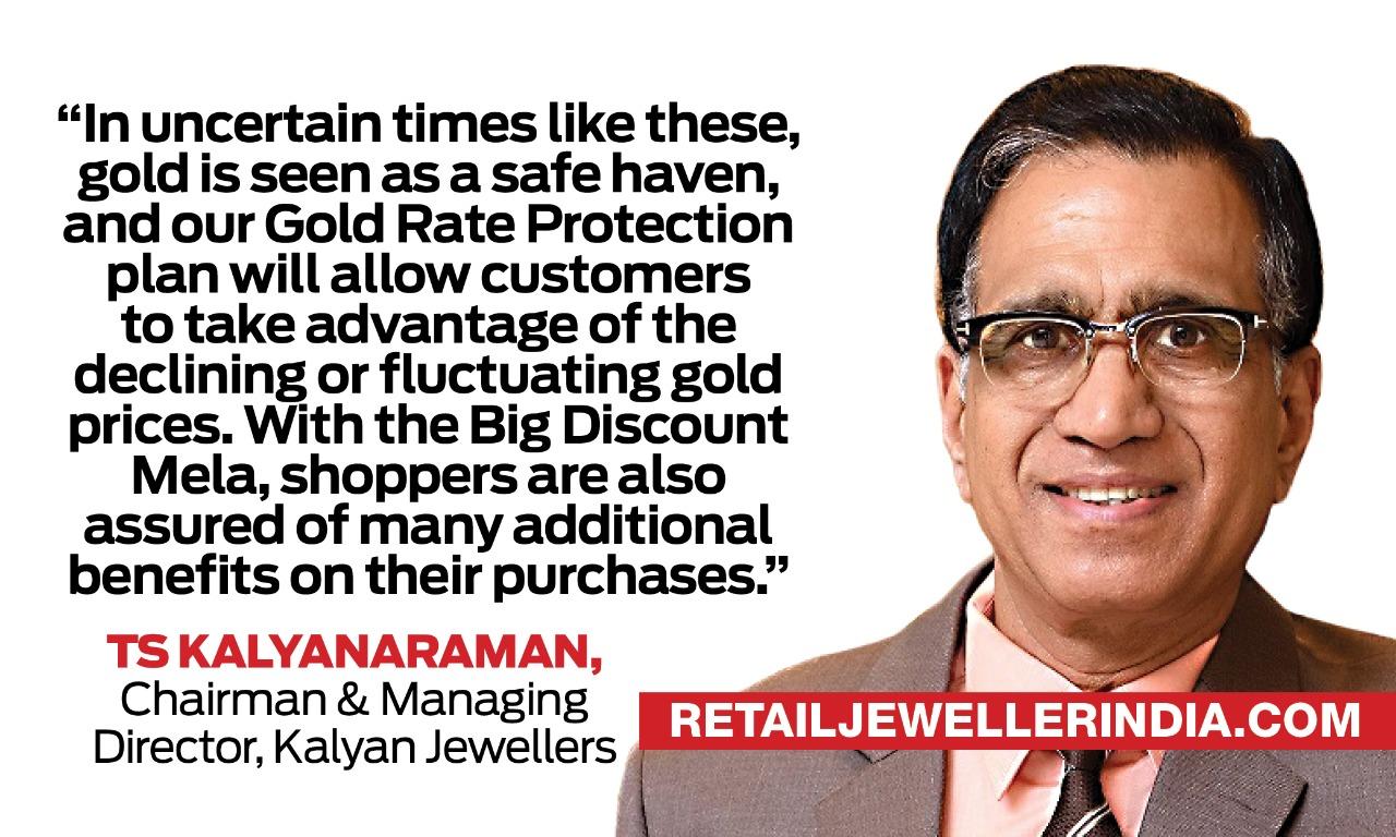 Kalyan Jewellers Big Discount Mela