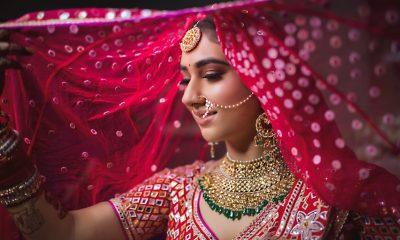 Disha Parmar wedding jewellery by Anmol Jewellers