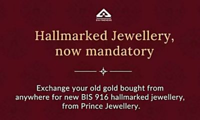 Prince Jewellery floats old gold exchange programme