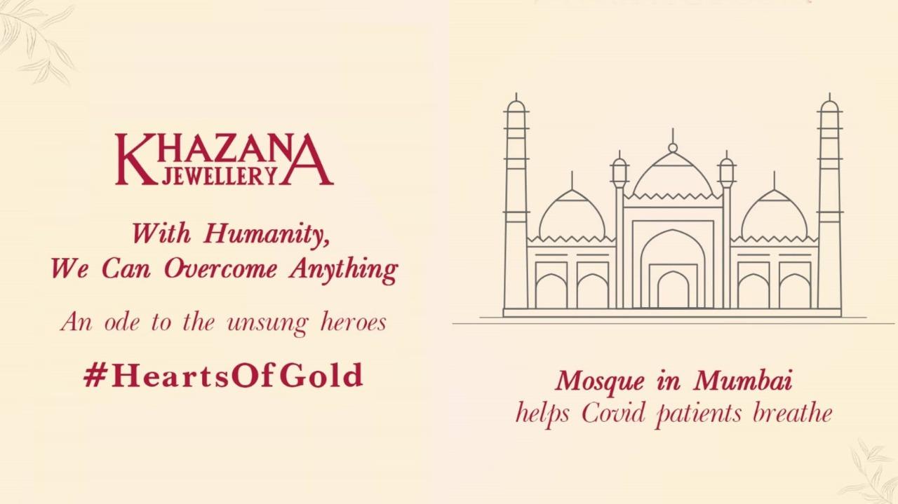 Hearts of Gold campaign by Khazana Jewellery