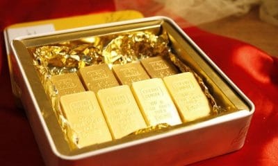 Gold prices fell in India