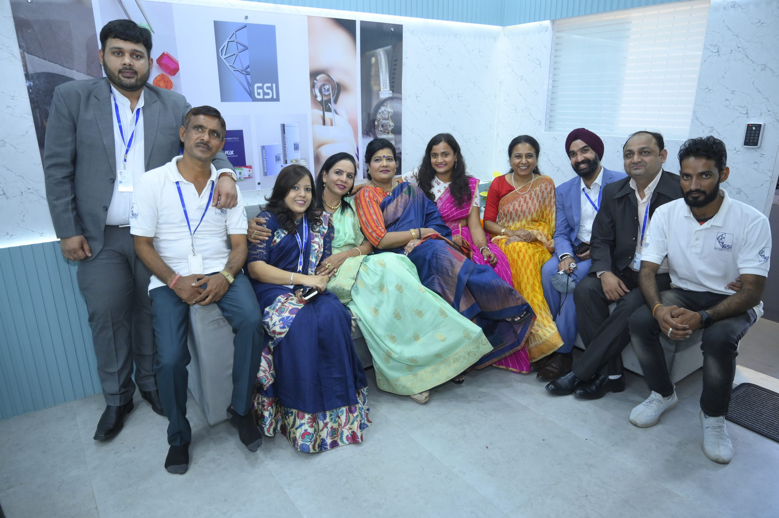 GSI Jaipur Team in the reception lounge