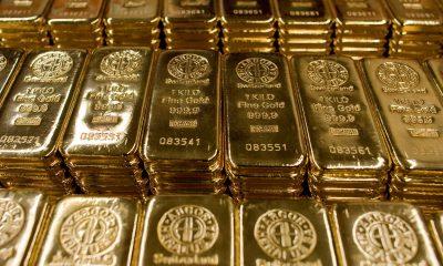 Gold falls amid firm dollar