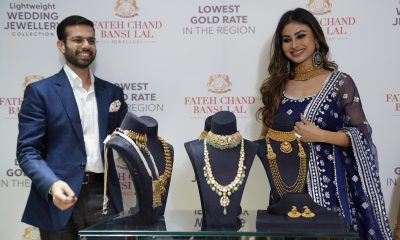 Bridal jewellery goes easy on weight, grand on looks with Fatehchand Bansilal's Mouni Roy Collection