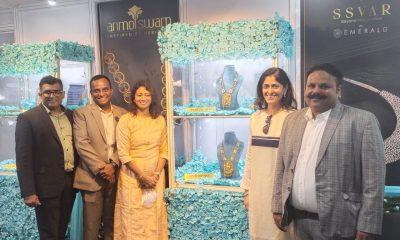 Anmol Swarn, Ssvar launch their exclusive premium collections at IIJS