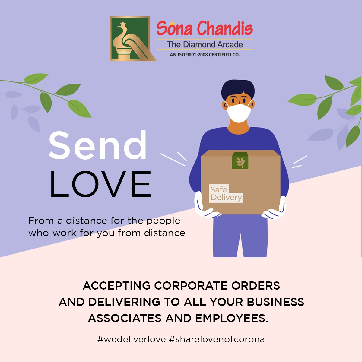 Sona Chandi jewellers reaches out to people this festive season---right till their doorsteps