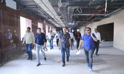 Kiran Gems visit Surat Diamond Bourse site